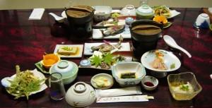永井旅館の料理